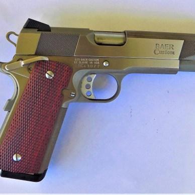 Les Baer 1911 pistol right profile