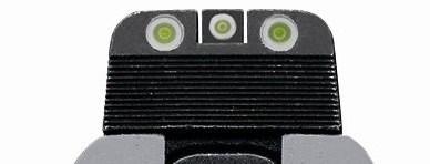hree-dot tritium sight picture