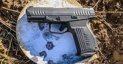 Arex Rex Delta pistol profile left