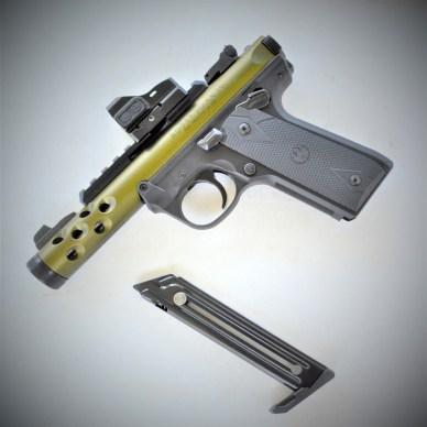Ruger Mark IV22/45Lite pistol right profile