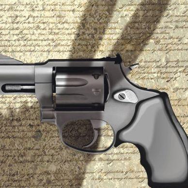Illustration on Democrat threats to Second Amendment rights
