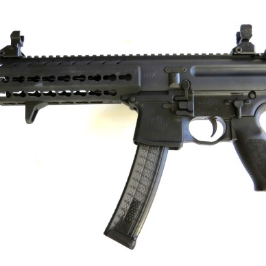 SIG MPX-PSB pistol left profile