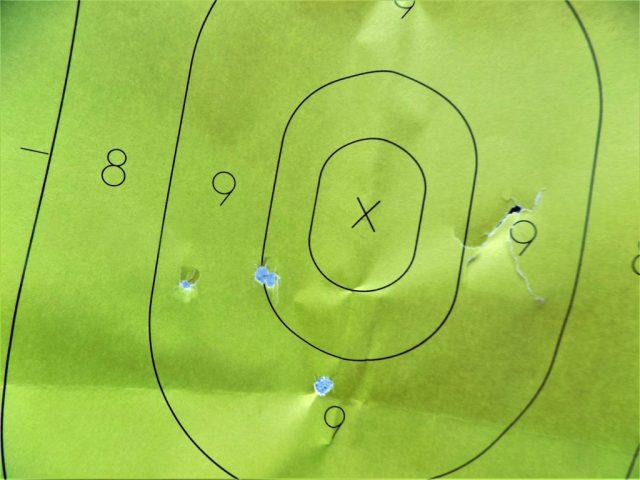 imapct pattern from a Taurus Judge