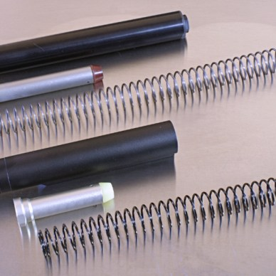 Buffers, springs and extension tubes for an AR-15 rifle