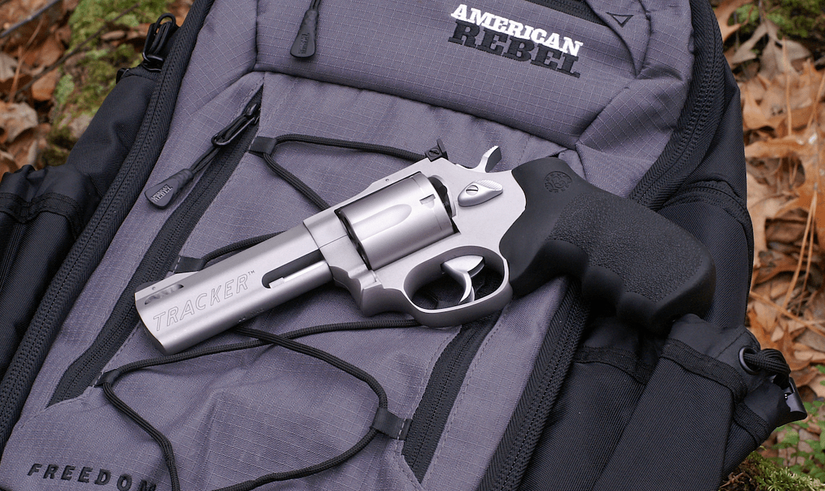 Taurus tracker 44 revolver with