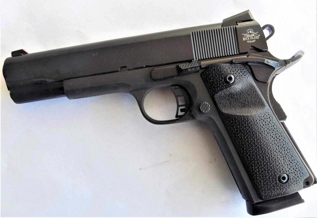 Rock Island 9mm 1911 pistol left profile