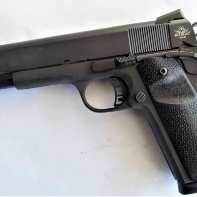 Rock Island 9mm 1911 pistol left profile