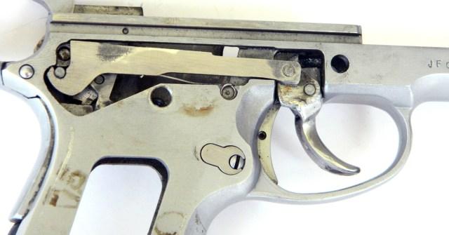 Firing mechanism on a Seecamp pistol