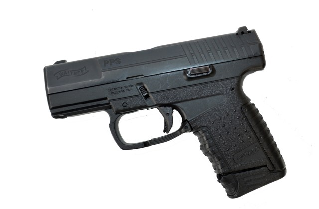 Walther PPS 9mm pistol left profile