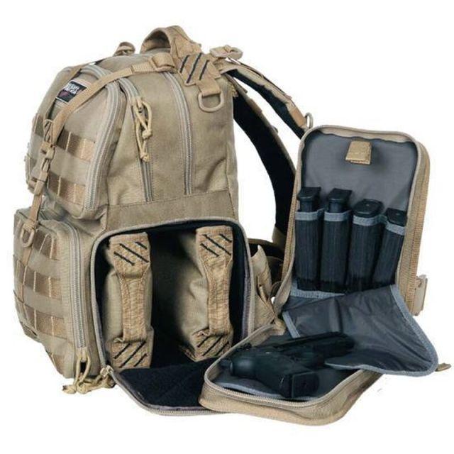 Tan Tactical Range Backpack
