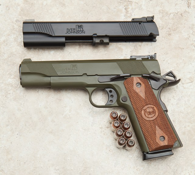 The iver johnson 1911 is a solid option.