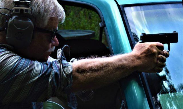 Cover target shooting - long range