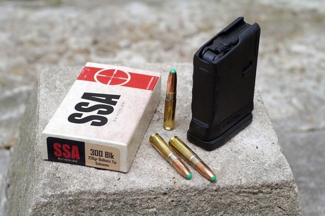 Subsonic .300 blackout ammunition from Nosler