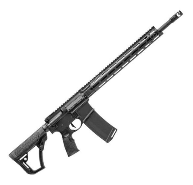 Daniel Defense AR-15 truck gun