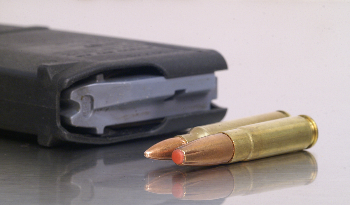 .300 blackout hornaday subsonic bullets in magazine