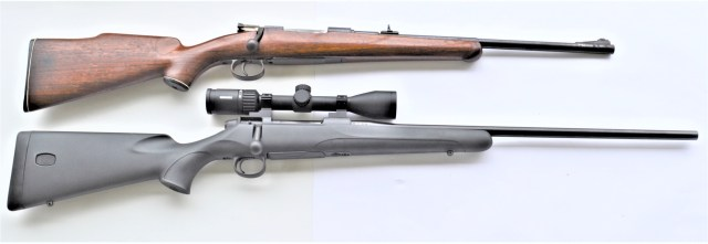 mauser rifle comparison