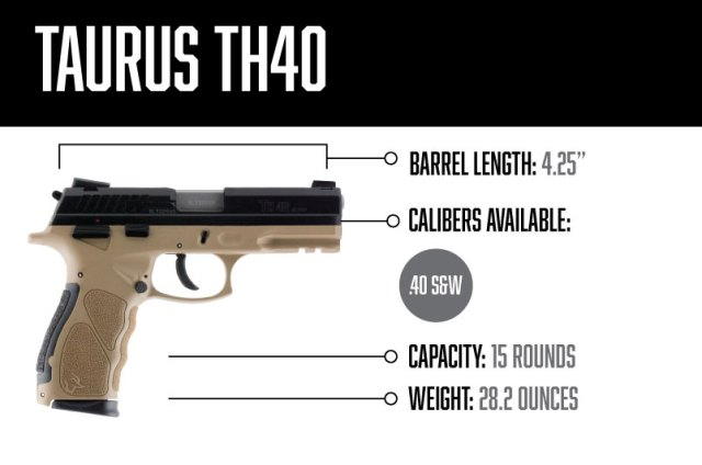 taurus handguns - th40