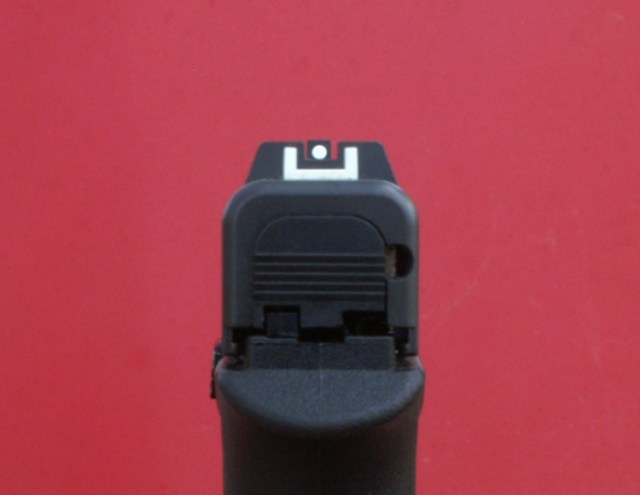 G42 rear sights
