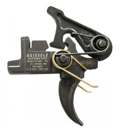 Geissele hi-speed national match trigger