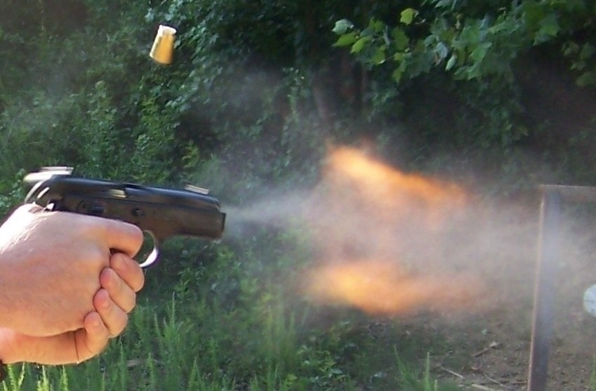 muzzle blast