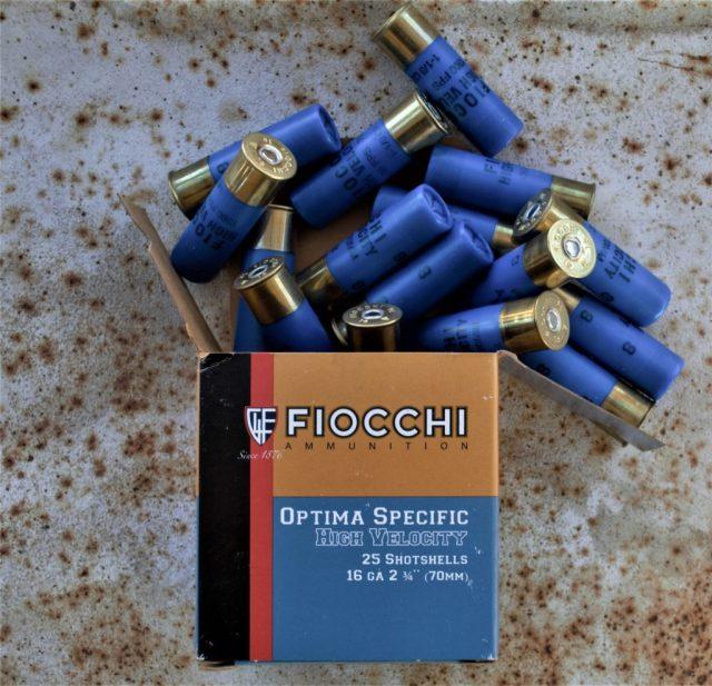 16-Gauge Shotgun: Fiocchi