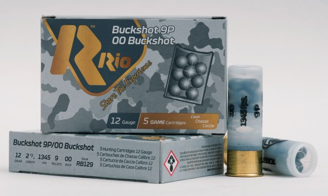 Patterning a Shotgun - Rio Buckshot