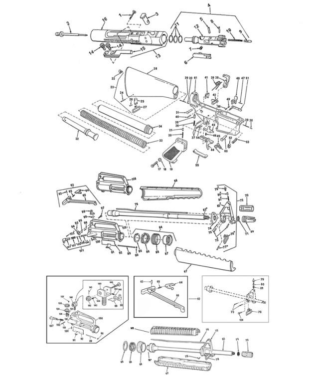 AR-15 blueprint