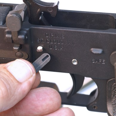 AR-15 triggers - locking pins