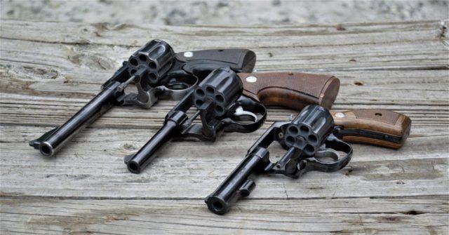 Larger handguns
