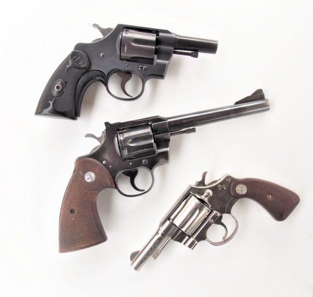 Colt Long-Barrel Magnums