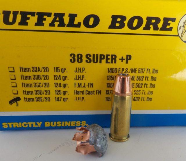 .38 Super Ammunition