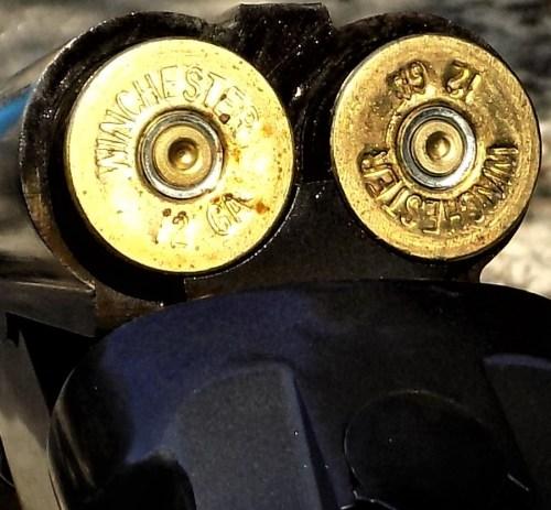 Winchester Buckshot in Double Barrel