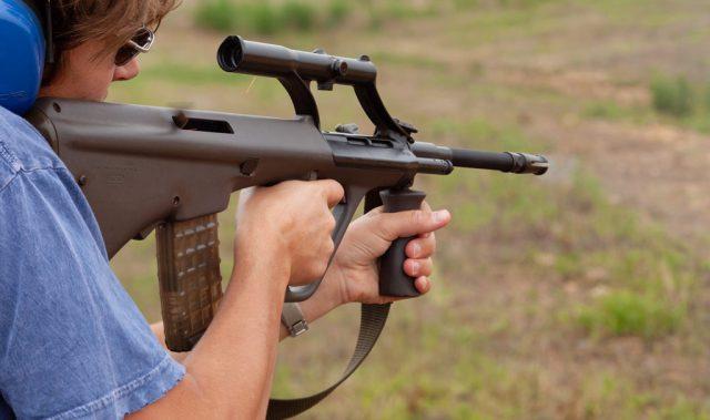 bullpup vs full-length carbine rifle