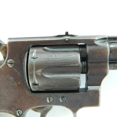 Smith and Wesson Hand Ejectors - Bolt Stop