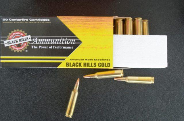 Black Hills .22-250 Ammo