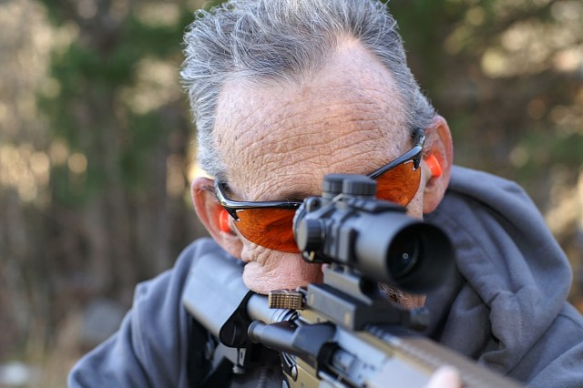 natural point of aim - rifle