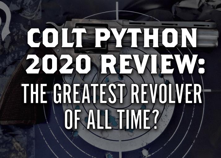 new colt python review 2020