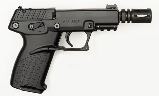 Kel-Tec P17 with Flash Hider