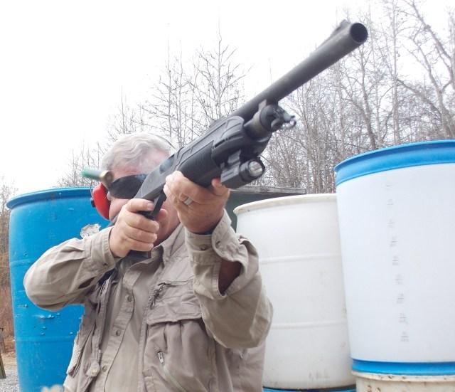 shotgun training - recoil control