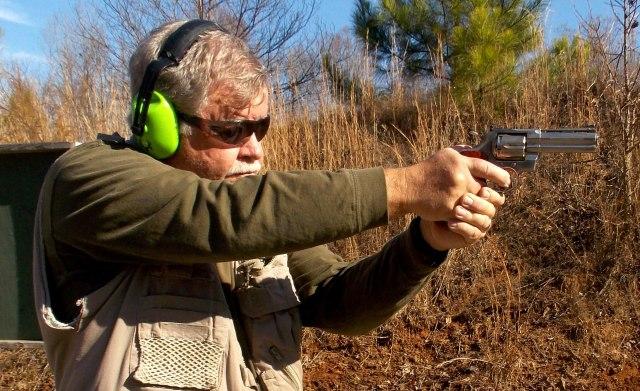 Shooting Revolver