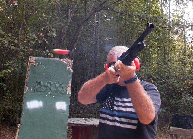shotgun training - recoil