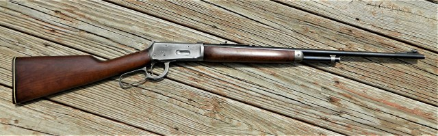 Old Winchester Lever-Action Rifle