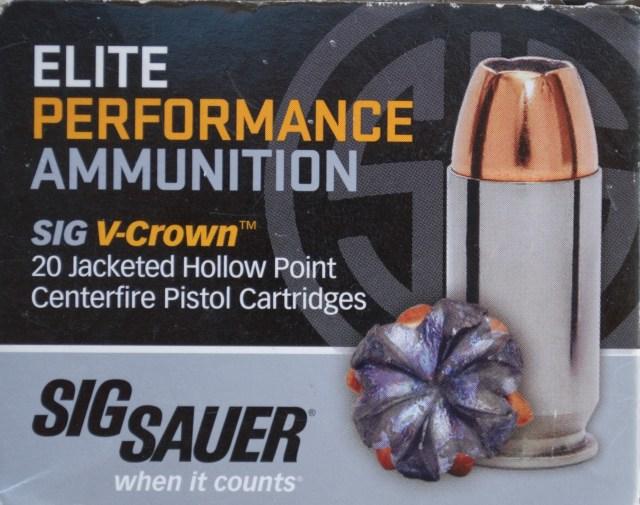 SIG V Crown Ammo Box