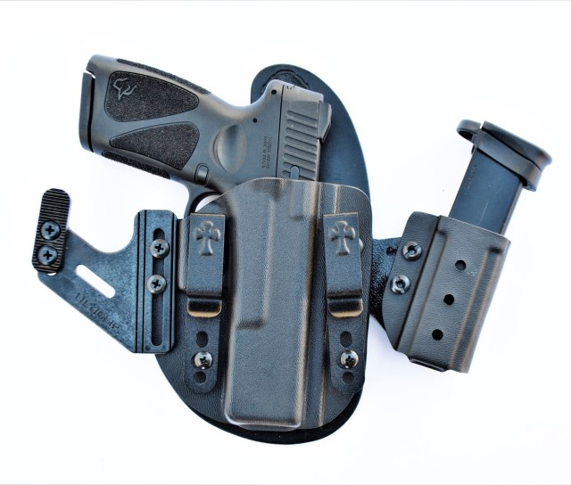 Taurus G3 and Spare Mag in Crossbreed Holster