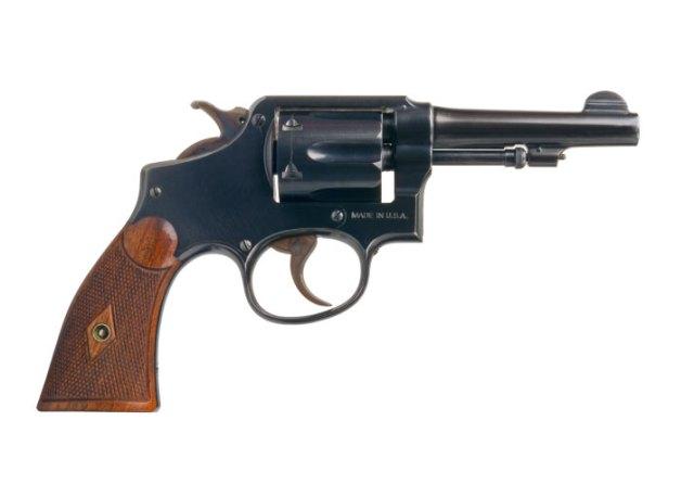 Blued .38 Special Revolver