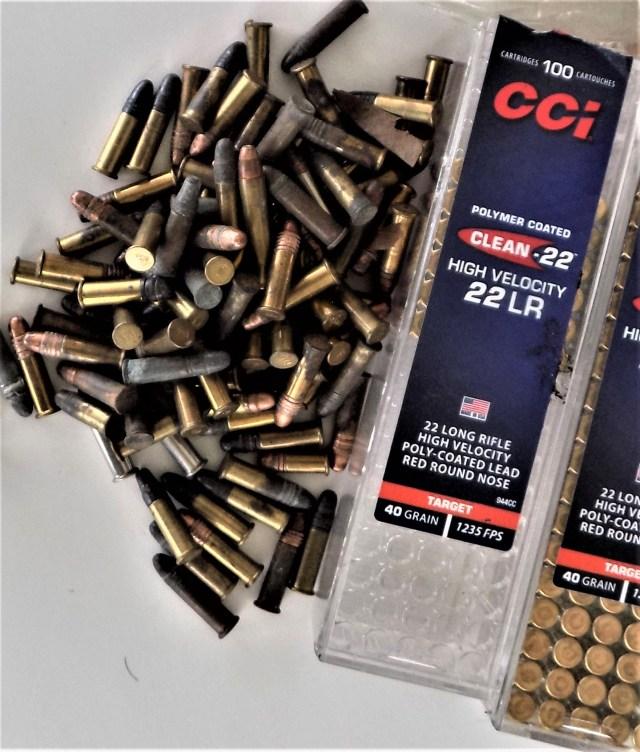 LCP III Lite Rack .22 - ammo