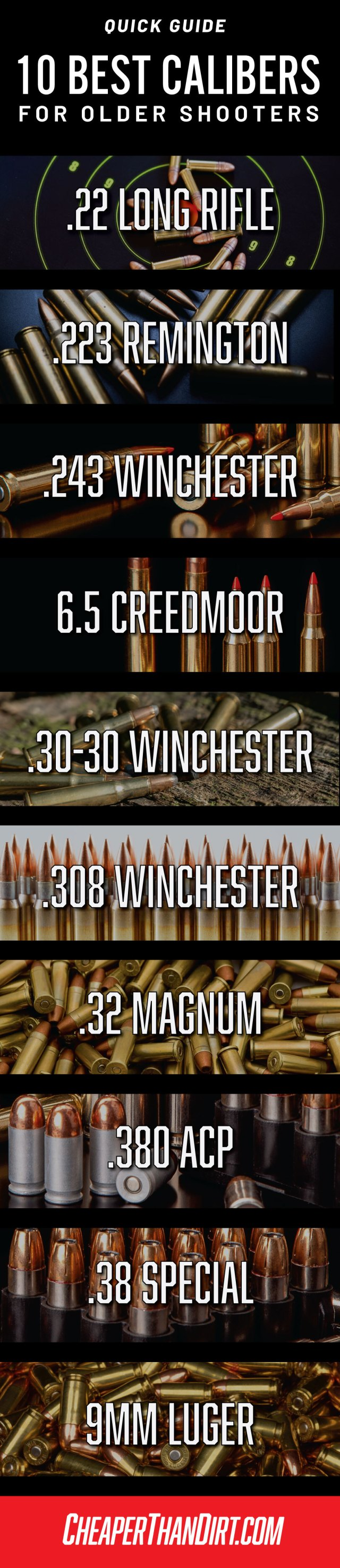 best calibers older shooters
