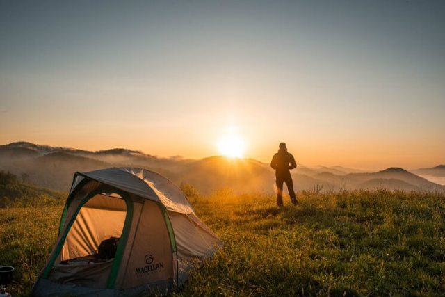 camping supplies - tent