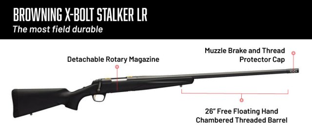 6.5 creedmoor rifles - browning bolt stalker