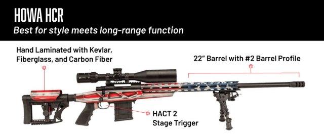 6.5 creedmoor rifles - howa hcr